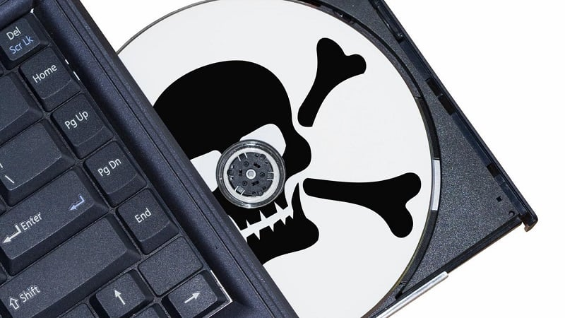 What are the risks using pirated software in your company