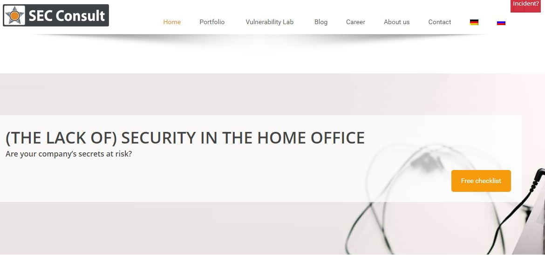 sec consult european cybersecurity company