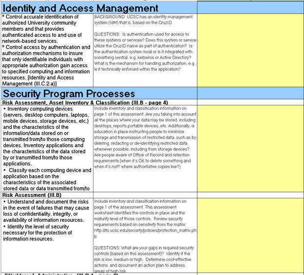 how to fill a vendor security questionnaire 4